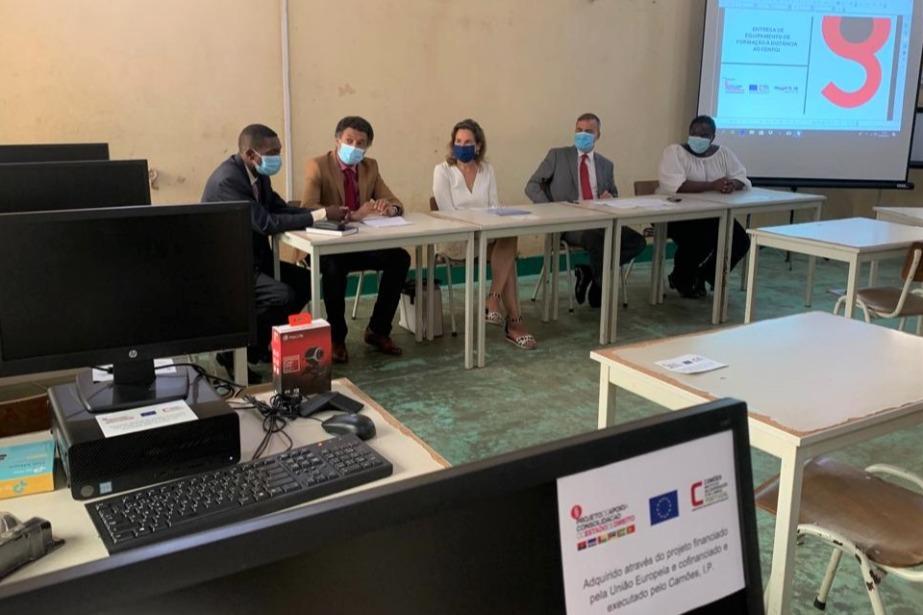 Guiné-Bissau: União Europeia e Camões, I.P., reforçam Centro Nacional de Formação Jurídica